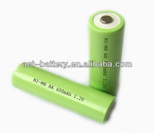 1.2v nimh aa 600mah 1200mah 2000mah rechargeable battery pack