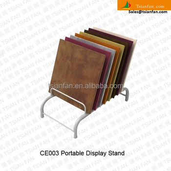 CE003---Metal material flooring display stand