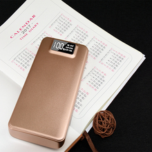 Low Cost 10000Mah Abs Plastic Gold Power Bank Online