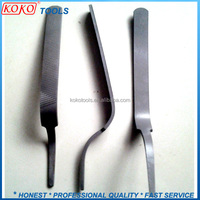 Special bent body steel files Beating iron for body repairface checked 315x40 mm , 500 g.