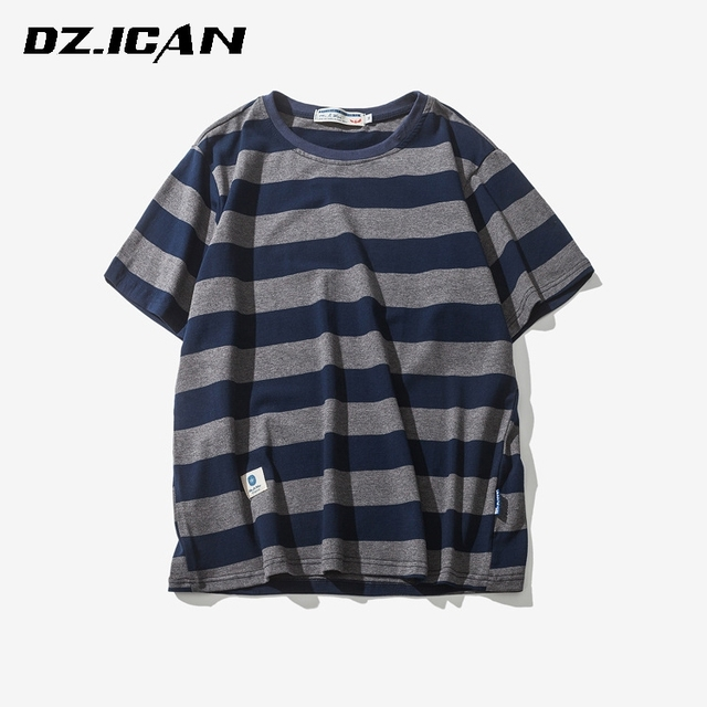 Top Selling Fancy Design Wholesale Striped T-Shirt For Men
