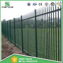 China Cheap security palisade fence / security euro palisade fence / steel palisade fence (Direct Factory)