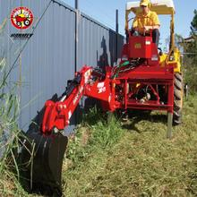 Hot selling ce 3 point hitch hydraulic small garden farm tractor towable backhoe for sale with great price