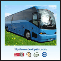 High gloss metallic bus paint