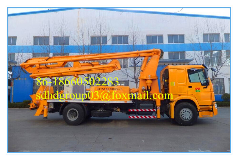 kinds of pump, with best configuration and good price, truck mounted concrete pump