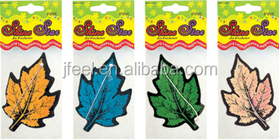 Tree Leaves Paper Card Car Air Freshener,Perfume Card for Car
