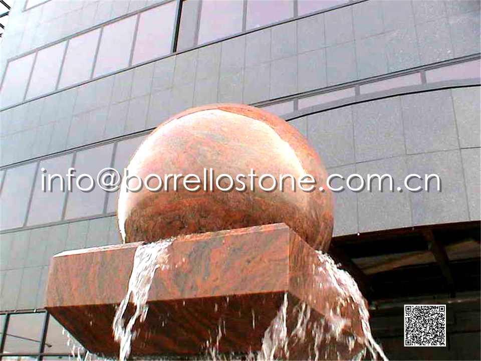 stone water floating ball