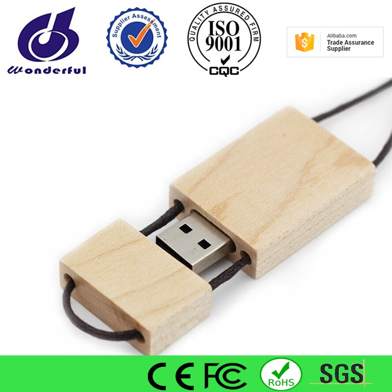 Custom Photography Exclusive Wood USB 2.0 Memory Stick Flash Drive pass H2 test