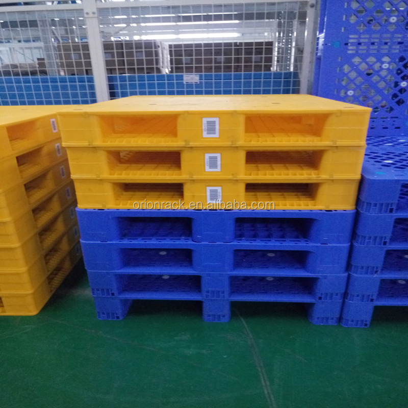 Double Layer Collapsable Plastic Pallet, Best Sell Natural Plastic Euro Pallet Price