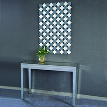Home furniture modern console table with wall mirror