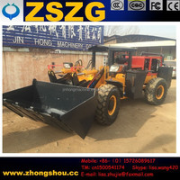 China Best Selling tunnel mucking loader/ tunnel excavation loader/ tunneling haggloader