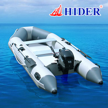 Hider new flying 0.9 mm PVC hovercraft inflatable boat
