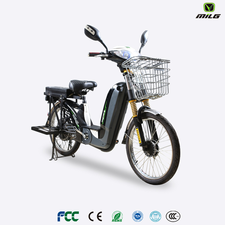 2017 hot sale CE certificate e-bike 22 inch electric cargo bicycle 48v battery electric bike