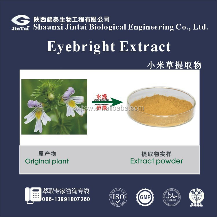 Free Samples Natural Eyebright Extract Powder