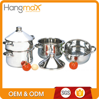 High custom kitchen steamer cooking couscous pot