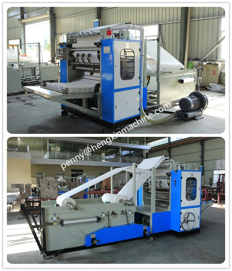 Automatic Box Facial Tissue Folding Machines