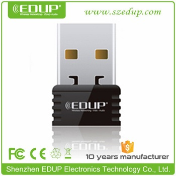 EDUP EP-N8531 802.11n usb wireless wifi dongle with rt5370 chipset wifi direct lan card