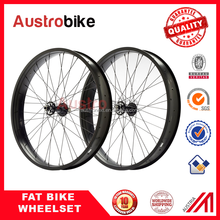 Fat Bike Wheel set 80mm alloy Snow Bicycle Wheels Fatbike Wheelset from China