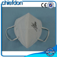 white earloop N95 best price fold flat respirators with your logo