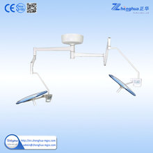 Factory price Two arm dental examination light with CE ISO certificate