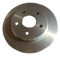Disc brake plate for car