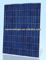 200w poly solar panel with 48 cells
