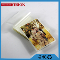Yesion New High Quality USA Standard PHOTO Size Laminating Film(152*229mm) Photo Lamination Film Puches