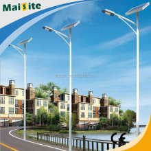 Outdoor 30w solar power led street lights with 6m pole