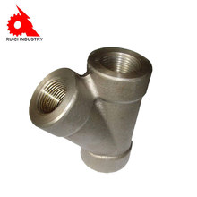 High quality S304 steel fitting lateral tee swivel joint for pipe saddle