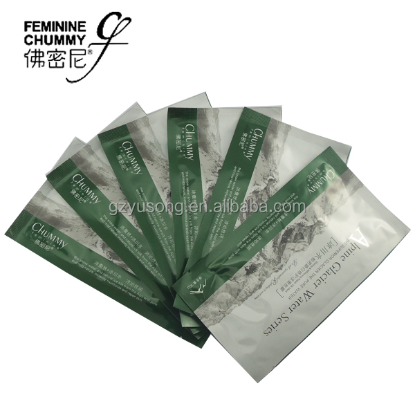 2015 Hot Best Wholesale new chummy Superior Glacier Water Extreme Shining Whitening Repair silk protein facial mask OEM/ODM