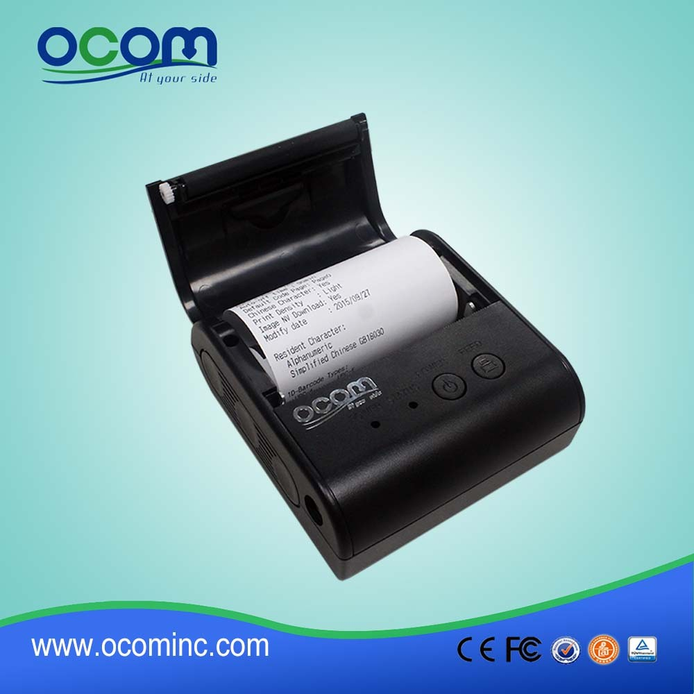 OCPP- M084 80mm cheap bluetooth mobile thermal printer for android and IOS device
