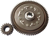 OEM quality 90 Clutch Master-slave pair(67teeth) for motorcycle, cussion gear set for GN5 67t-20t