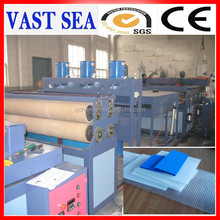 pp corrugated hollow structure carton plast printing sheet making machine