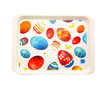 Alibaba China rectangular solid plastic serving tray dinner plate,rectangle charge tray