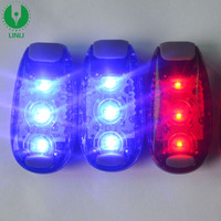 LED Clip On Flashing Strobe Light High Visibility For Running Jogging Walking Cycling Best Reflective Gear For Kids Dogs Bicycle