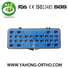 orthodontic bracket manufactures orthodontic mini roth bracket and brace 022&018
