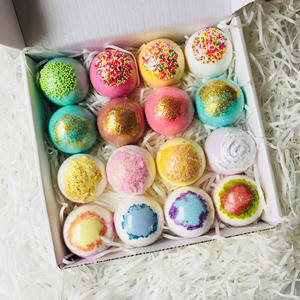 natural fizzy bath bombs supplies essential oil bath bombs gift set wholesale