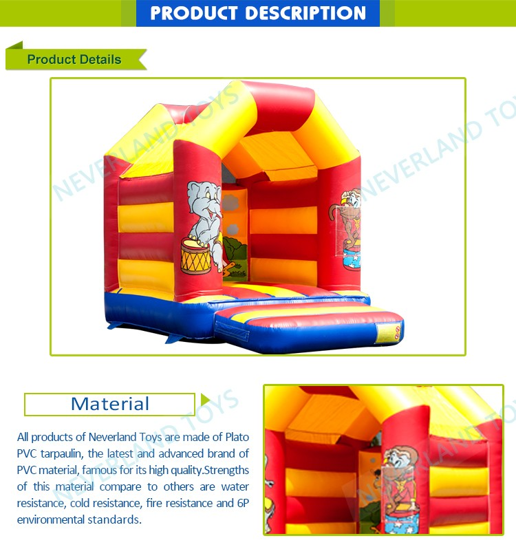 kids trampoline inflatable jumping air bouncer house for children