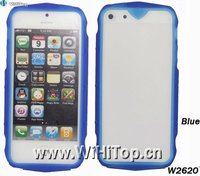 Cool Fashion Racing Car Design TPU Bumper Frame Case Cover for iPhone 5 Wholesale Price+High Quality
