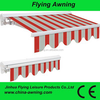 2015 Hot Sale Retractable Awning With LED Light F2100