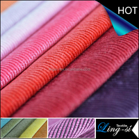 Nylon Polyester Corduroy Spandex Fabric for Pants
