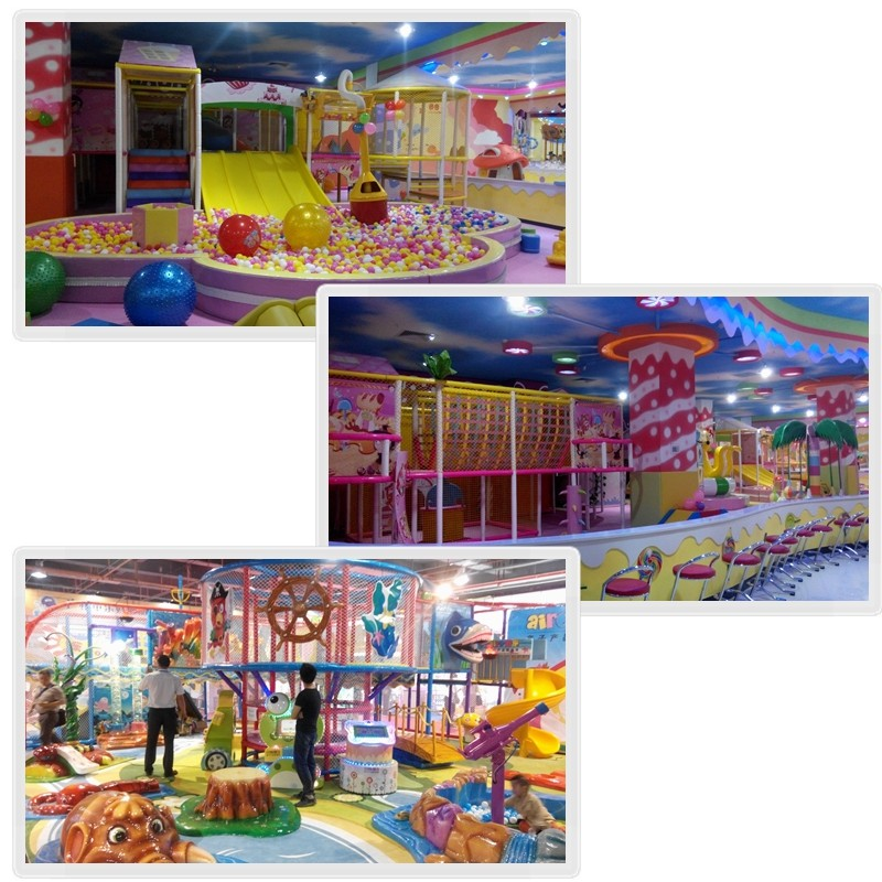 Three floor games kids plastic indoor jungle gym hot sale