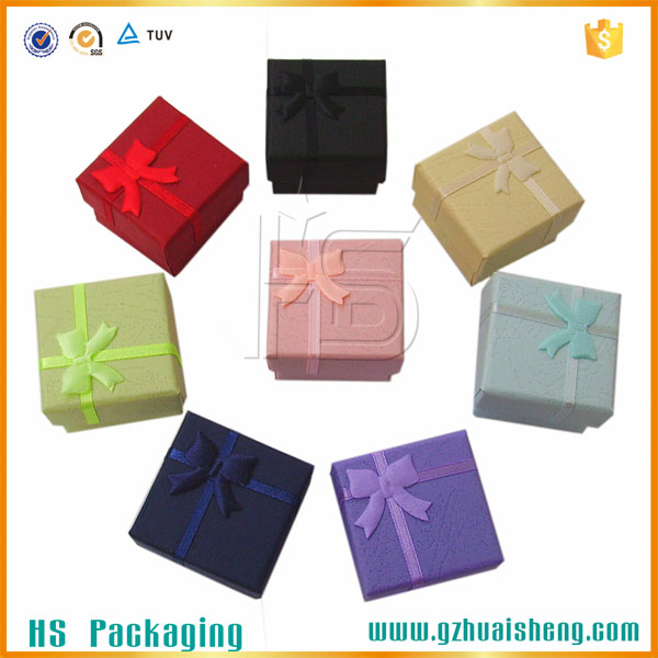 China Manufacturers Wholesale Jewelry Gift Box Packaging
