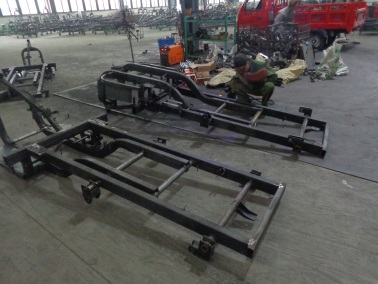 Welding (Tricycle Chassis)