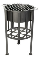 antique barbeque fire pit , bbq fire pit table