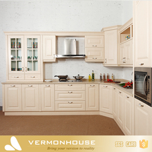 Vermont Classic White Color PVC Sink Cabinet Kitchen