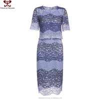 2016 Spring Summer New Style New Dress Collection Bodycon Ladies 3-Piece Dress