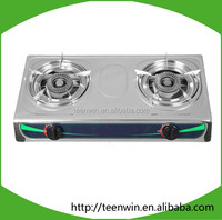 China hot biogas double stove burner