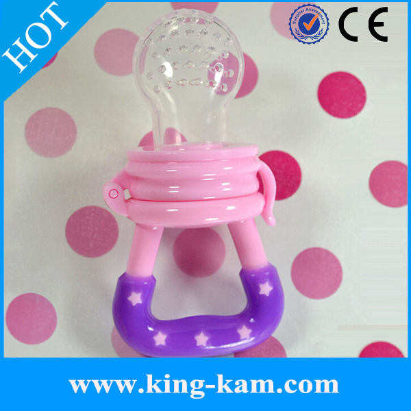 Baby products funny fruit silicone baby swallow feeder bite baby fresh food feeder