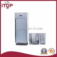 stainless steel commercial fridge freezer